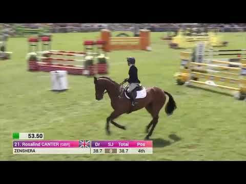 Ros Canter and Zenshera Show Jumping 2017 Leg 1 Chatsworth
