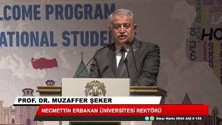 """Büyükşehir'den uluslararası öğrencilere """"hoş geldiniz"""" programı"""