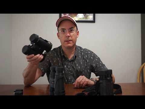 Zeiss Terra ED, Nikon Monarch 5 and Vortex Diamondback binoculars in a head to head comparison