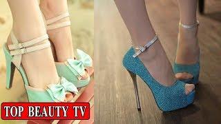 Peep toe  heels, high heel shoes for women