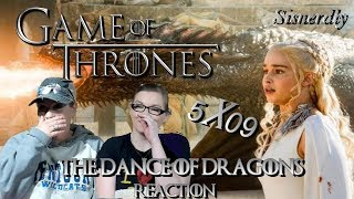 """Game Of Thrones 5x09 """"The Dance Of Dragons"""" Reaction"""