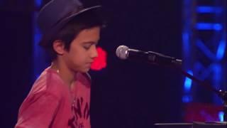 Вот это ГОЛОС! Мальчик поразил всех.(Alicia Keys)-Fallin(Lukas)-Голос дети/The voice of kids.