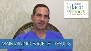 Dr. Ross Clevens on How to Maintain Facelift Results