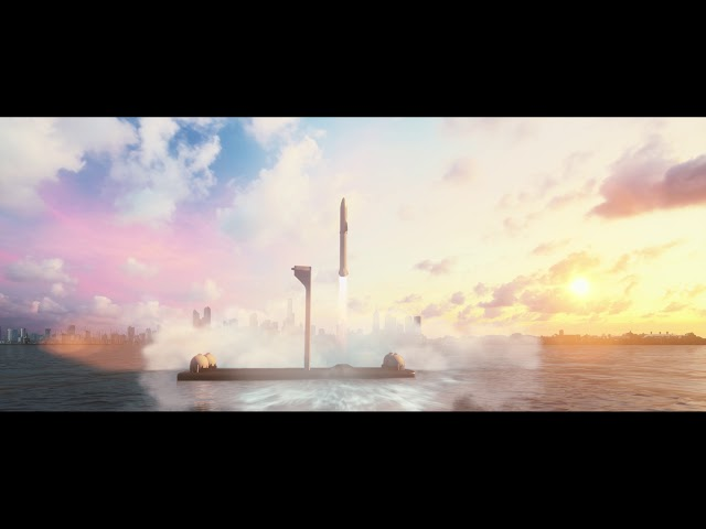 Elon Musk and SpaceX BFR Rocket Could Fly from NY to LA in