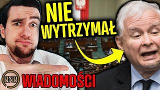 """Kaczyński się wściekł! """"Macie się S̲Z̲C̲Z̲E̲P̲I̲Ć"""" WIADOMOŚCI"""