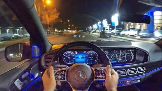 2021 Mercedes Maybach GLS 600 POV Night Drive (3D Audio)(ASMR) by MilesPerHr