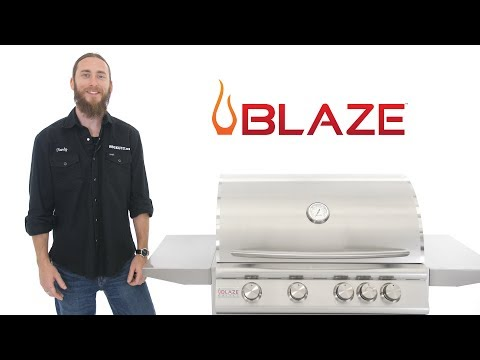 Blaze Grills Video - Blaze Gas Grill Video Breakdown