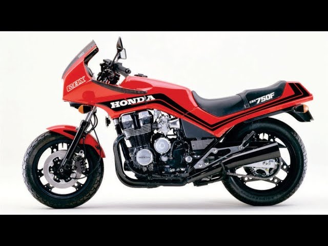 Cbx 750f 86 Red