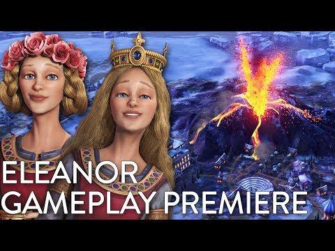 Civilization VI: Gathering Storm - Eleanor Gameplay Premiere (Dev Livestream)