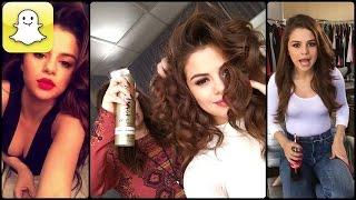 Selena Gomez - Snapchat Video Compilation (Best 2016★)