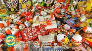А lot of candy 😂 Много сладостей и конфет