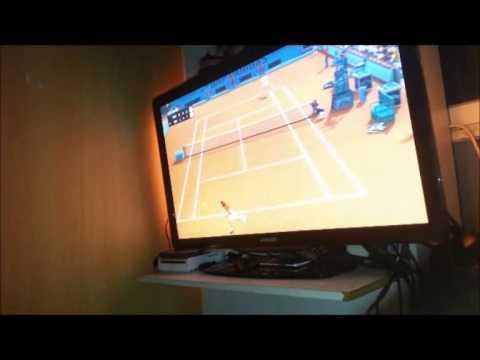 Top Spin 4. Partido en tierra entre Nadal y Djokovic al mejor de 5 sets. SET 3.