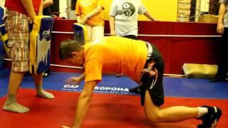 Короткая тренировка с нагрузкой на все группы мышц