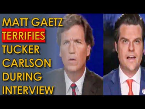 Matt Gaetz SHOCKS Tucker Carlson after Implicating him in his Investigation Interview