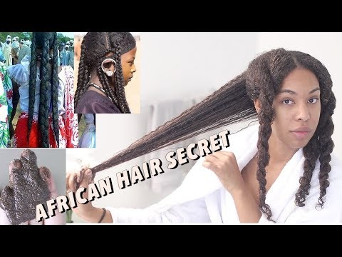 Chebe Powder for  SUPER LONG NATURAL HAIR and length retention | African Hair secret