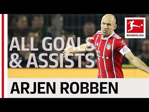 Arjen Robben - All Goals and Assists 2017/18