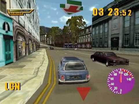 The Italian Job Playstation