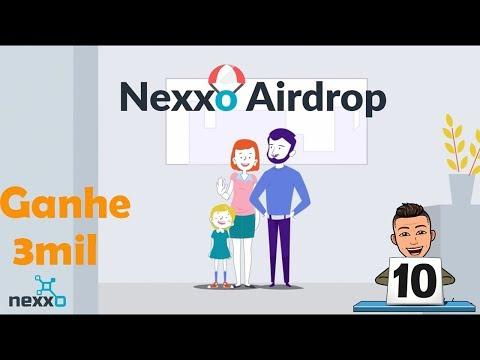 Ganhe 3mil Nexxo neste Airdrop assistindo vídeo !