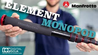 Manfrotto Element Aluminum Monopod | Overview