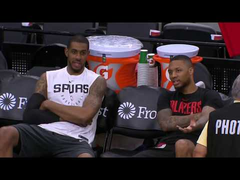 Portland Trail Blazers vs San Antonio Spurs : March 16, 2019