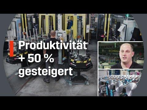 Automation von Fastems: Produktivität um über 50% gesteigert