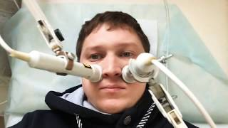 GrekovTV -Лечение и лазерная терапия гайморита при помощи магнитов в городе Димитровграде