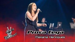 "Mariana Henriques - ""At Last"" | Prova Cega | The Voice Portugal"