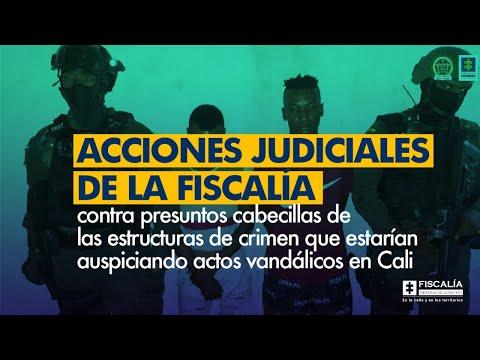 Fiscal Francisco Barbosa: Acciones judiciales de la Fiscalía por actos vandálicos en Cali