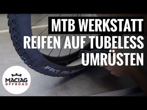 MTB-Reifen auf Tubeless umrüsten | Tutorial | Maciag Offroad Mountainbike Werkstatt