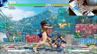 SFV How to Hit Box: Non-TK Chun Li's Instant Air Lightning Legs