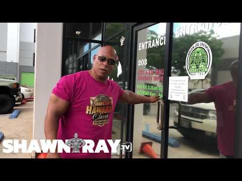 Shawn Ray Gym Tour The GYM Maui 2018