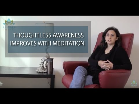 Regular practice of meditation