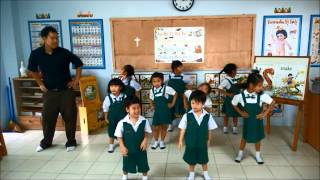 Jolly Phonics Songs GROUP 1 : S, A, T, I, P, N .