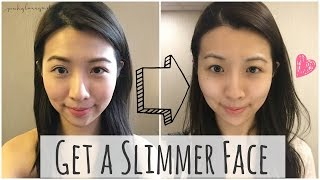 How to get a Slimmer Face ❤ The Japanese way to a Smaller Face (Ad)