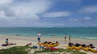 preview picture of video 'Lanikai Beach Kailua Oahu Hawaii (July 2012)'
