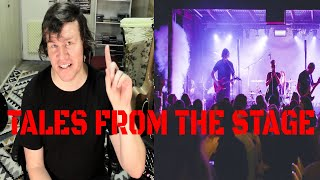 Some crazy stuff happened at the gig