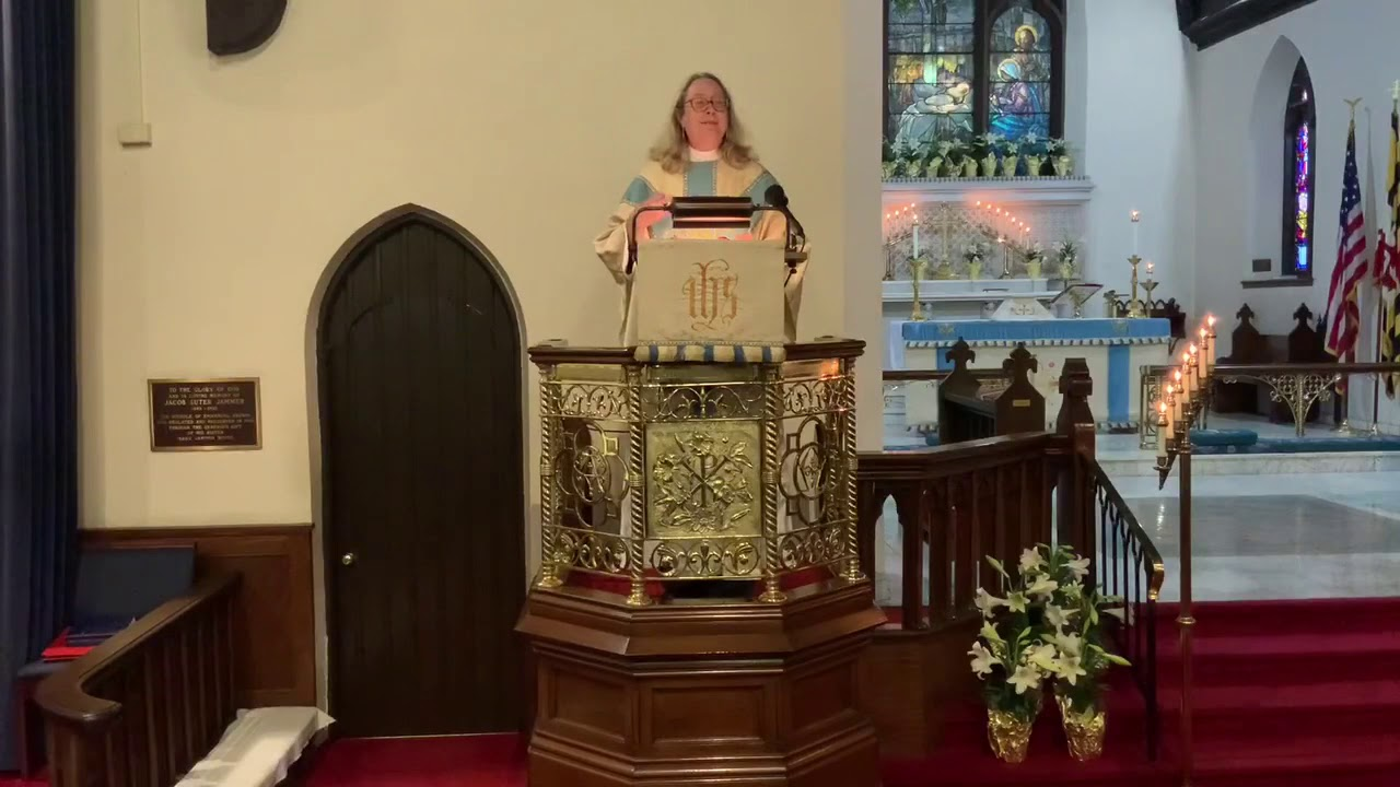 Easter Sermon by the Rev. Martha N. Macgill