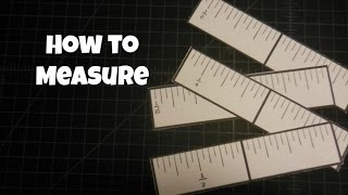 How To Measure {and Card Mat Examples}