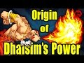The Origin of Dhalsims POWER Street Fighter  Culture Shock