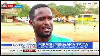 Ujenzi wa kiwanja cha Moi kaunti ya Voi yakatizwa huku mwanakandarasi akiondoa vifaa vyake