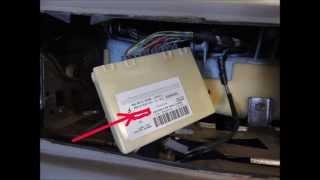 2005 Explorer Sport-Trac door code recovery