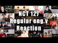 "NCT 127 엔시티 127 'Regular (English Ver.)' ""Reaction Mashup"""