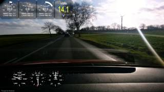 preview picture of video 'Torque Pro Test - Driving Home for Christmas'