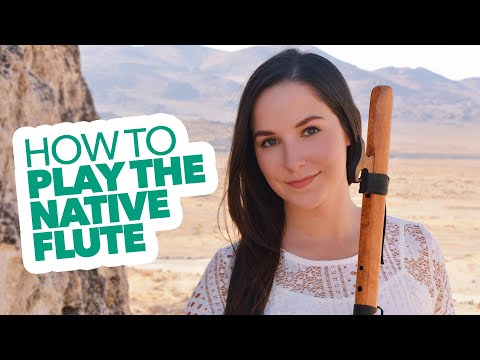 """Learn How To Play The Native Flute!   High Spirits Flutes Coupon Code: """"Gina"""" for 15% off!"""