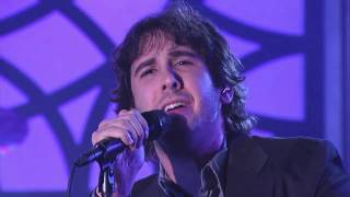 "Performing on percussion with Josh Groban: ""Voce Existe Em Mim"""