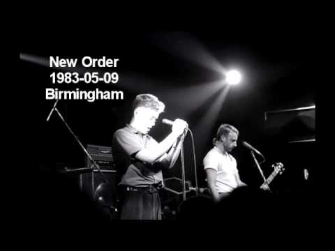 New Order - Love Will Tear Us Apart (live 1983)
