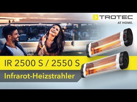 Infrarot - Heizstrahler IR 2500 S / 2550 S