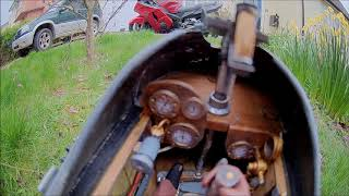 Maxford USA AIRCO DH-2 WW1 Fighter, test video, FPV conversion ( ground test )
