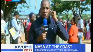 Election Preparation : NASA presidential Raila Odinga to address Mombasa residence