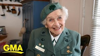 This 98-year-old Girl Scout Has Been Selling Cookies Since 1932 L GMA
